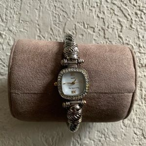 French Laundry Silver Slip on Watch (Lagos style)